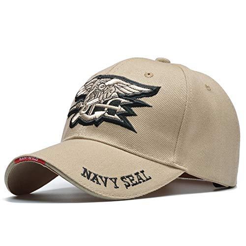 MAOZIJIE Mode Coole Männliche Us Navy Seal Cap Air WeicheTaktische Knochen Baseballmützen Armee Hut Solider Bonnrt