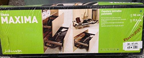 Filinox Zapatero Extra Panelable 86-97cm