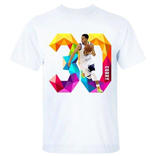 BMWW Hombre Stephen Curry Golden State Warriors MVP # 30NBA Champion T Shirt