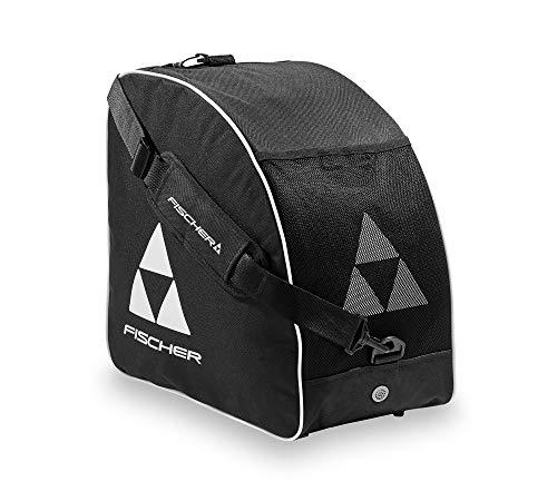 Fischer Skibootbag, Schwarz/Weiß, Alpine Eco-Borsa per Scarponi da Sci, Colore: Nero/Bianco Unisex-Adulti, Taglia Unica