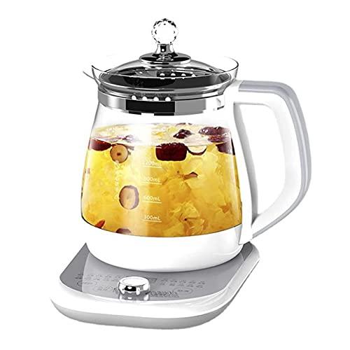 XYG Hervidor eléctrico de Vidrio para el hogar Tetera Multifuncional de Alta Potencia para Citas Inteligente Adecuado para Agua Café Fruta Té Leche Té