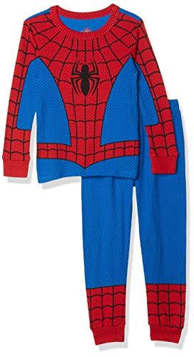 Marvel Spider-Man Costume PJ PALS for Boys- Size 10