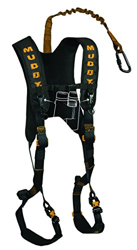 Muddy Diamondback Harness, Black