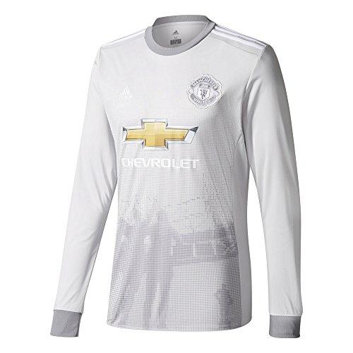 adidas 2017-2018 Man Utd Third Long Sleeve Football Soccer T-Shirt Jersey