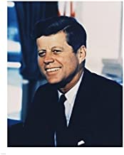 Posterazzi John F. Kennedy White House Color Photo Portrait Poster Print (8 x 10)