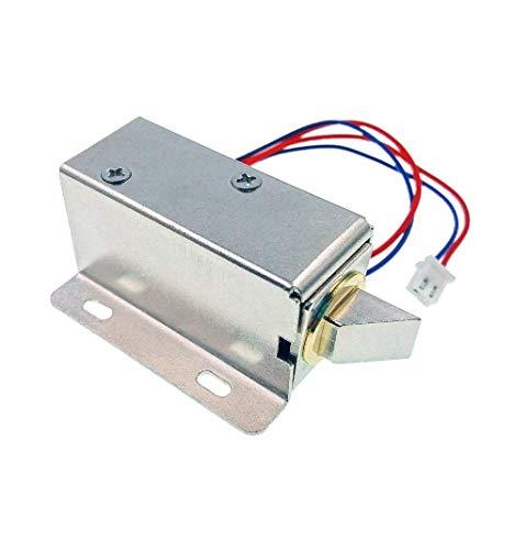 JZK® DC 12V Elektro Schloss Elektrische Sperre Sicherheitsschloss für Sicherheitssystem Safes Türschrank Schranktür