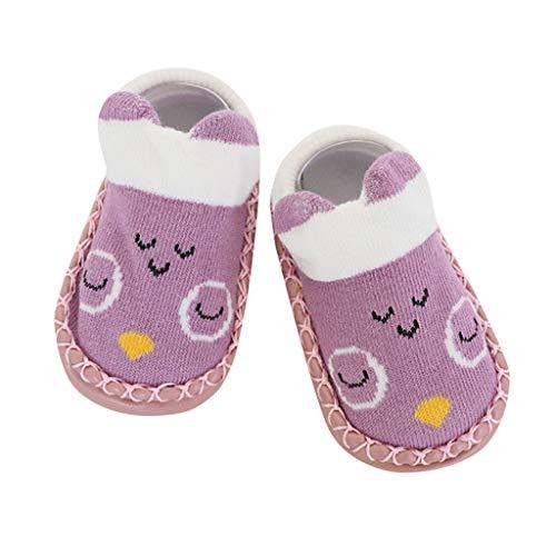 Salalook Baby Cartoon schoenen anti-slip Toddler sokken van leer kinderen vloersokken cartoon pasgeborenen meisjes jongens anti-slip sokken slip slip schoenen laarzen