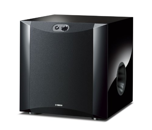Yamaha NS-SW300PN 20-160 Hz 250W Powered Subwoofer,Black
