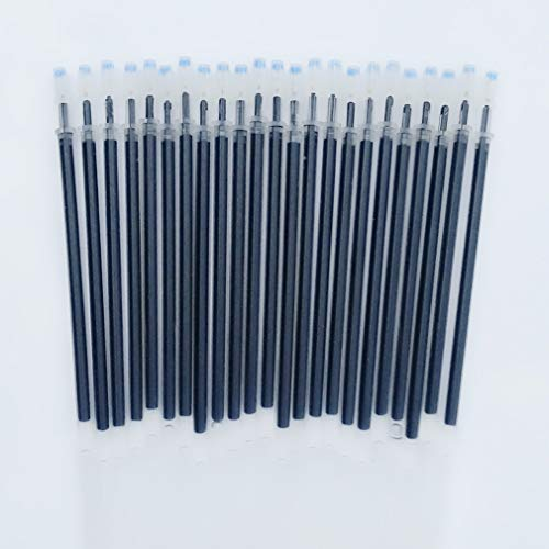 Sencoo 24-pack 0.5 mm Black Gel Ink Pen Replace Refills