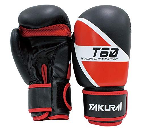 サクライ貿易(sakurai) PRO-WING(プロウイング) ボクシンググローブ PWF-134 レッド×ブラック