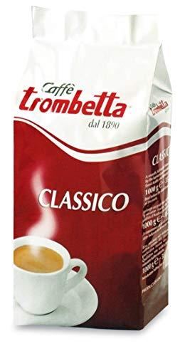 Caffè Trombetta, Caffè Tostato in Grani, Classico - 1 Kg