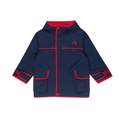 Finkid Tuulis navy red Kinder Zip In Outdoor Parka