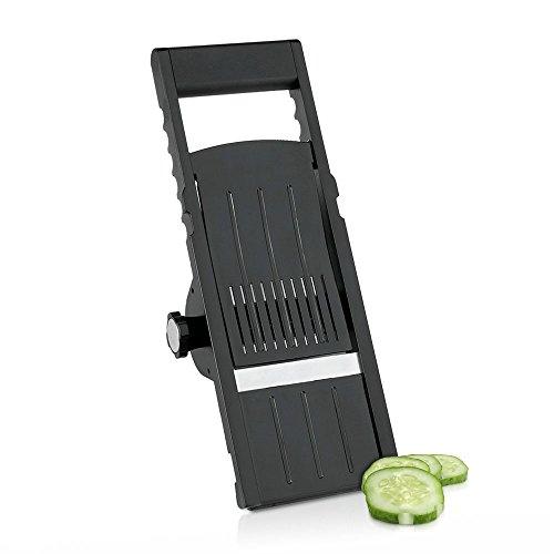 Metaltex Cortador DE Verduras Regulable 'Ninja', Negro, Estandar