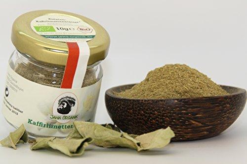 Jawa Organik - Kaffirlimettenblätter BIO