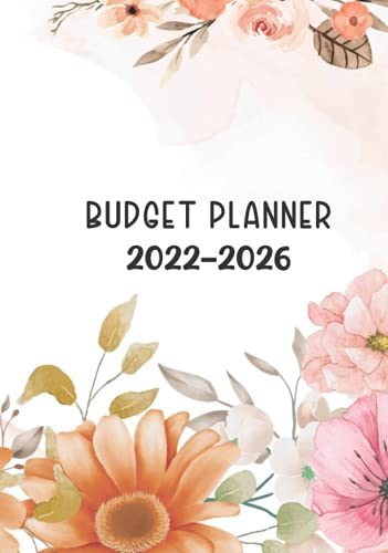 2022-2026 Budget Planner: Five Year Bill Organizer | Financial Planner| Annual Savings | Goals | Monthly Yeraly Budget | Expense Tracker | 7″ x 10″ Hardcover