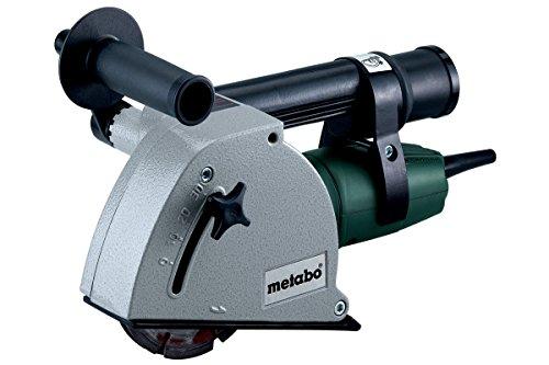 Metabo 601119500 Mauernutfräse MFE 30 | + 4 Distanzringe, 2 Diamant Scheiben, Spannmutter, Handgriff, Winkelschrauben-/Zweilochmutterndreher, Ausbrecher, Tragkasten (1400 W / 4,3 KG)