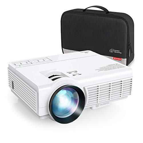 VANKYO Leisure 3 Pro (2020 Upgraded) Mini Projector w/ Synchronize Smartphone Screen, [Native 720P] WiFi Portable Projector Supports 1080P, Compatible with iPhone, Android Devices,TV Stick and HDMI