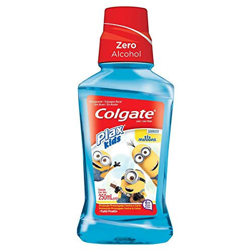 Colgate - Enjuague Bucal Plax Kids Minions 250ml