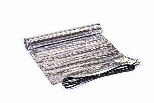 SFX® Elektrische Fußbodenheizung 1m² - 15m² Heizmatte 150Watt/m² Flachheizung Bodenheizung Flächenheizung für Laminat/Parkett