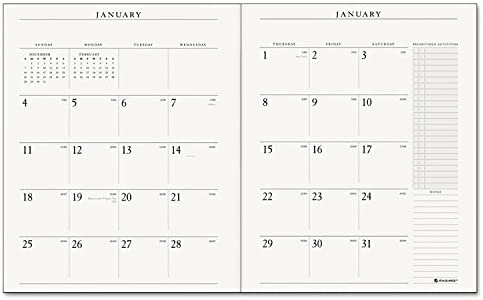 Executive Monthly Padfolio Refill 9 x 11 Jan 2020 Jan 2021 13 Month product image