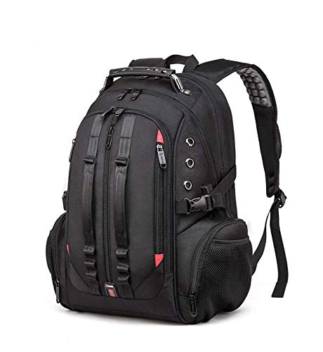Red Lemon 45 L USB Anti Theft Travel Backpack for Men