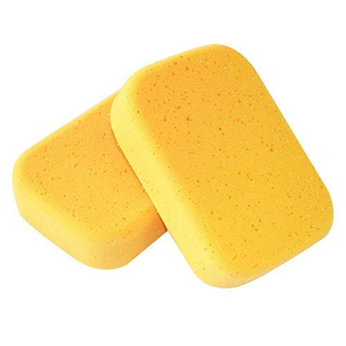 Sponzen 10 Stks Rand en Reiniging Zeewier Sponge 20 Tijd Waterabsorberende Grouting Schoonheid Naaien Sponge Auto Wasbenodigdheden Scourers