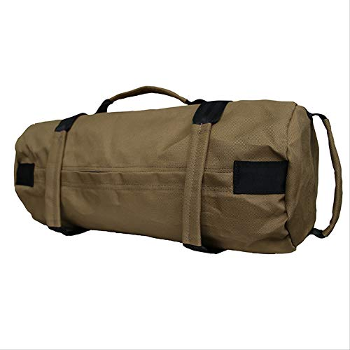 without sand in it pologyase 20KG Weight Sand Power Bag Strength Training Fitness Exercise Workout Sandbag Durable Sandbag