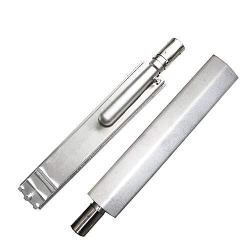 Grillbrenner SS304 aus gegossenem Edelstahl, 41cm universeller Grillbrenner (CITSS, CIT-SS), Grillbrenner kompatibel mit Aussie Blaze Char-Broil NEXGRILL Thermos Turbo Gasgrills