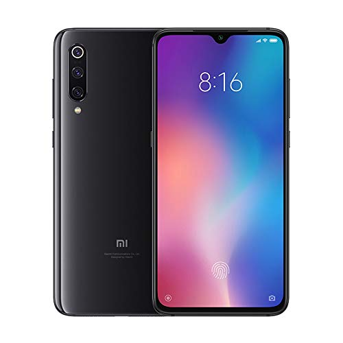 "Smartphone Xiaomi Mi 9, 6 GB RAM, 128 GB ROM, 6.39 ""AMOLED Dot Full Screen, 48 MP 117 ° Wide Angle Macro Triple Camera (12 + 48 + 16) (Negru)"