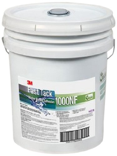 3M Fast Tack Water Based Adhesive 1000NF, Purple, 5 Gallon Drum (Pail)