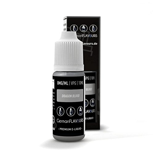 GermanFlavours Liquid - Dragon Blood - 10ml 0 mg/ml