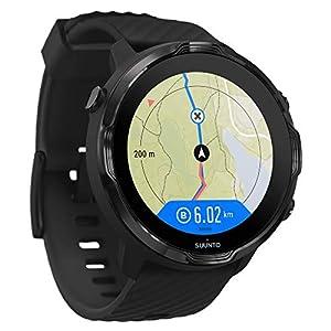 Suunto 7, GPS Sport Smartwatch with Wear OS by Google - Black