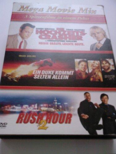 Mega Movie Mix: Die Hochzeitscrasher / Ein Duke kommt Selten Allein / Rush Hour 2