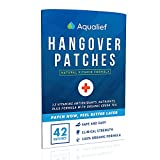 Aqualief Hangover Patches for Prevention,...