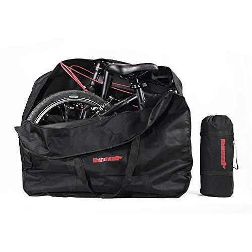 Maso Faltbare Fahrradtasche für den Außenbereich, 35,6 cm/50,8 cm, faltbar, Aufbewahrungstasche für Transport, Flüge, Auto, Zug, Reise