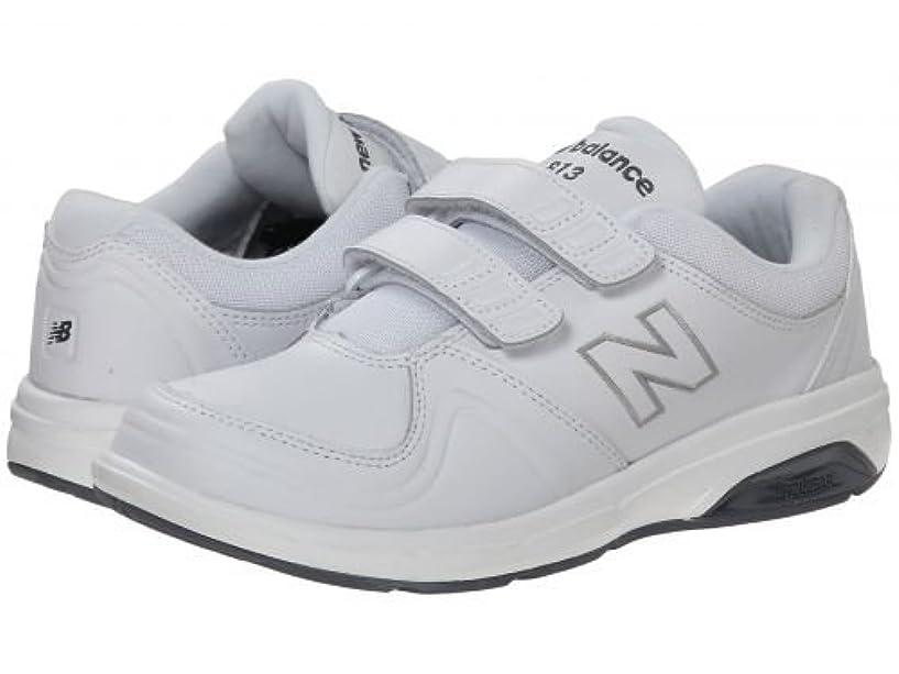 受信機種類是正するNew Balance(ニューバランス) レディース 女性用 シューズ 靴 スニーカー 運動靴 WW813Hv1 - White [並行輸入品]