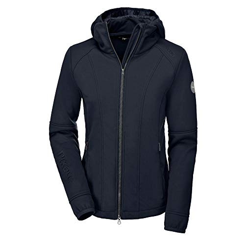 PIKEUR Damen Softshell Jacke METTE CLASSIC Collection Herbst-Winter 2019/2020, navy, 42