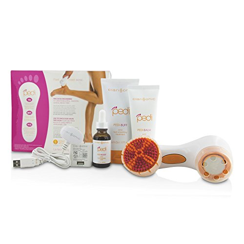 Clarisonic - Pedi Sonic Foot Transformation Kit: Pedi-Buff 177ml + Pedi-Balm 100g + Foot Renewing Peel 30ml + Pedi Device + Smoothing Disc + Brush Head + Charger 7pcs
