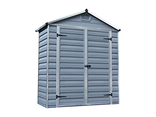 Palram Skylight 6ft shed (6x3, Grey)