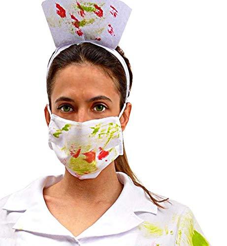 Ciao- Miss Toxic Nurse Costume Donna Adulto (Taglia Unica), Multicolore, 62195