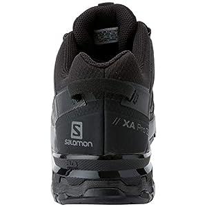 Salomon XA Pro 3D V8 GTX Men's Trail Running / Hiking Shoe, Black/Black/Black, 11.5 D (M)