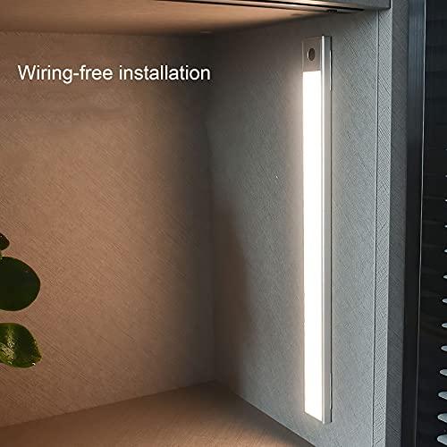 Miouldram Luz LED inalámbrica Dos maneras de usar: Hay dos maneras de usar la luz del gabinete. uno es conectar y usar directamente; el otro es usar