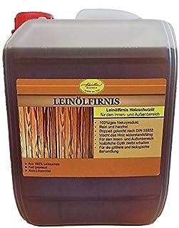 Scheidler horse-direkt Leinölfirnis 5L 100% natürlicher Holzschutz doppelt gekocht & harzfrei – Holzlasur für innen & außen – Holzöl, Holzschutz, Holzversiegelung
