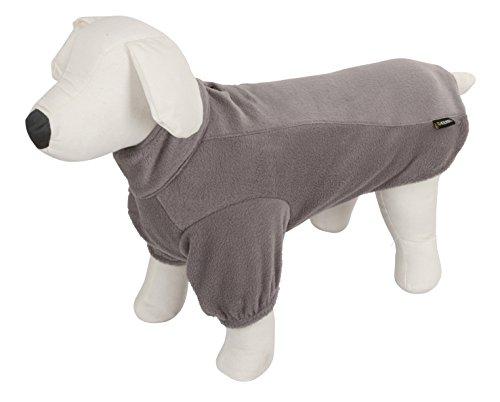 Kerbl - Abrigo de Forro Polar, Talla L, 45 cm, Color Gris