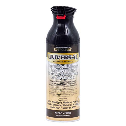 Spray Universal Brillante Rust-Oleum 400ml - Negro