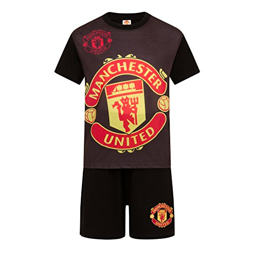 Homme Manchester United Lounge Pants Bottoms Nightwear Pyjama Pjs Football Cadeau