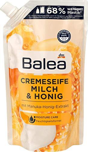 Balea Flüssigseife Milch & Honig Nachfüllpackung, 1 x 500 ml