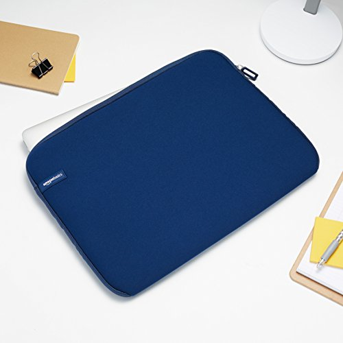 """Amazon Basics NC1303154F1 - Funda para ordenadores portátiles (15.6""""), color azul marino"""