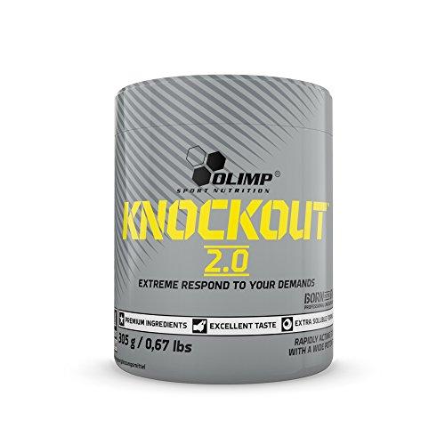 Olimp Olimp Knockout 2.0 | Pre Workout Formula | Hohe Portion L-Citrullin und Beta Alanin | Cola Geschmack | 305 g