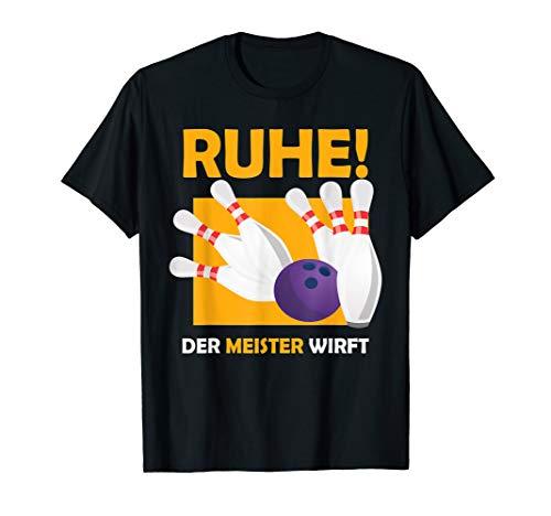 Bowlingspieler Bowling Bowlingkugel Geschenk T-Shirt